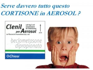 Cortisone in aerosol: la terapia più abusata in pediatria!