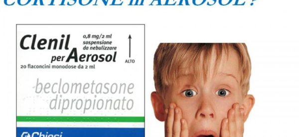 Cortisone in aerosol: la terapia più abusata in pediatria!