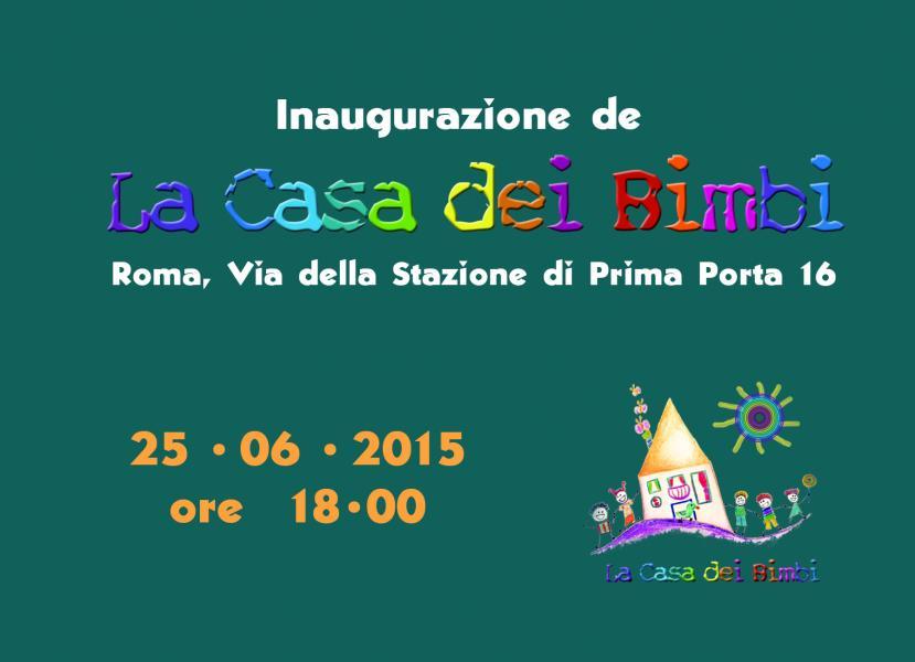 """Inaugurazione de """"La Casa dei Bimbi"""": Il Faro Pediatrico ci sarà!"""