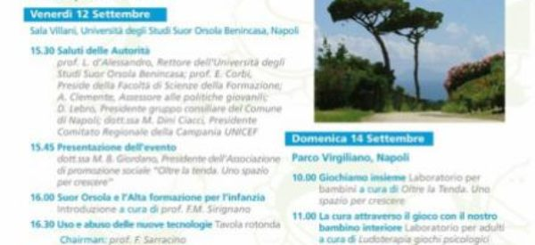 """14 SETTEMBRE 2014 – 2° edizione di """"Essere Bambino""""! Vieni a trovarci!"""