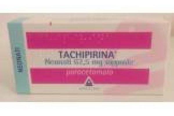 Tachipirina supposte 62,5 mg (neonati)