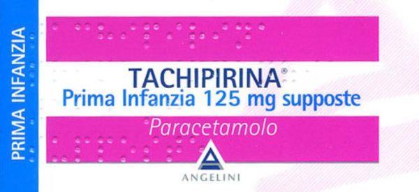 Tachipirina supposte 125 mg (Prima Infanzia)