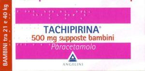 Tachipirina supposte 500 mg (bambini)