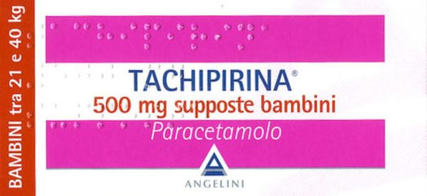 Tachipirina supposte 500 mg (bambini)